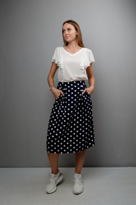 Блуза Mita ЖМ1052 белый