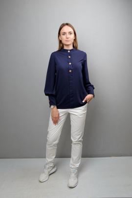 Блуза Mita ЖМ1086 синий