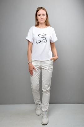 Блуза Mita ЖМ1097 белый