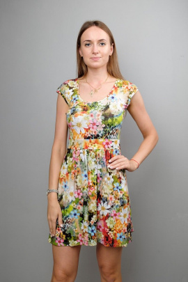 Платье Mita ЖМ275 луговые_цветы