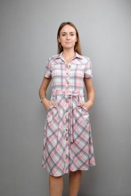 Платье Mita ЖМ1035 клетка