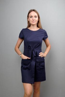 Платье Mita ЖМ1045 синий