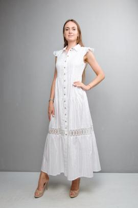 Платье Mita ЖМ1047 белый