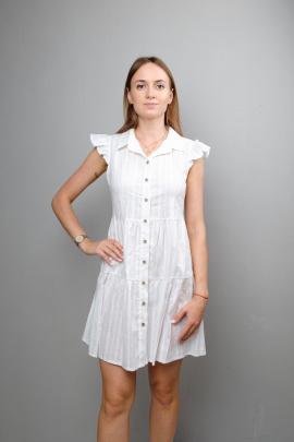Платье Mita ЖМ1047А белый