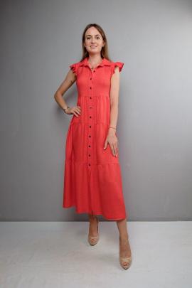 Платье Mita ЖМ1047 красный
