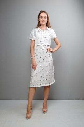 Платье Mita ЖМ1050 белый