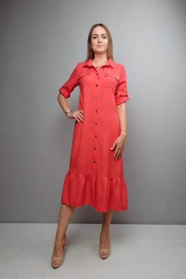 Платье Mita ЖМ1091 красный