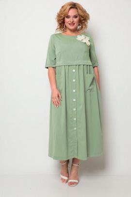 Платье Michel chic 2062 оливка