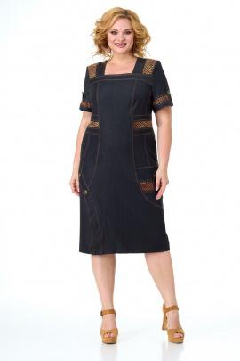 Платье Anelli 1086 черный