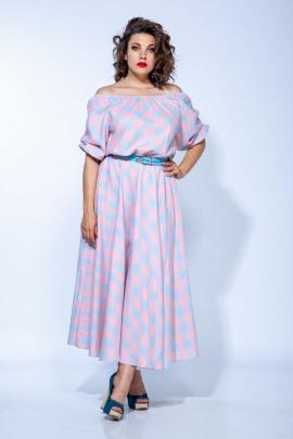 Платье Anastasia 654 голубой