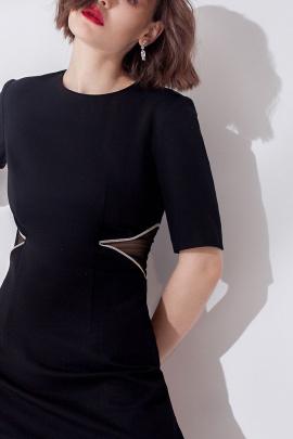 Платье Moveri by Larisa Balunova 5465 черный