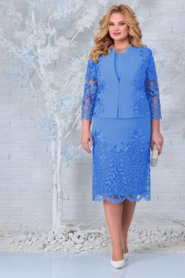 Жакет, Платье Ninele 5854 небесный