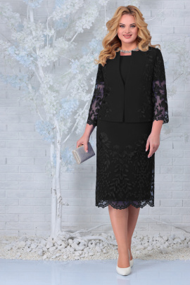 Жакет, Платье Ninele 5854 черный