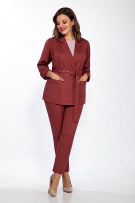 Женский костюм LaKona 1316 винный
