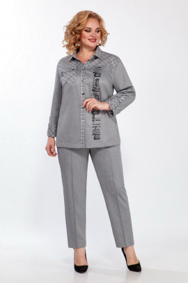 Женский костюм LaKona 1393 серый