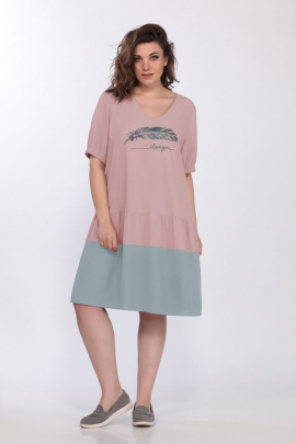 Платье Lady Secret 3677 пудра