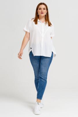 Рубашка Панда 44140z белый