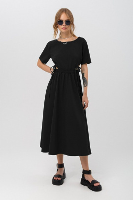 Платье PiRS 3176 черный