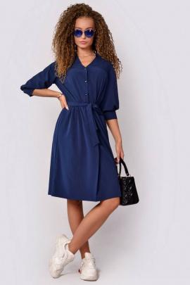 Платье PATRICIA by La Cafe F14859 ярко-синий