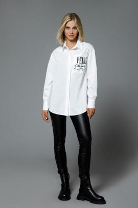 Блуза DiLiaFashion 0524 белый