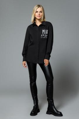 Блуза DiLiaFashion 0524 черный