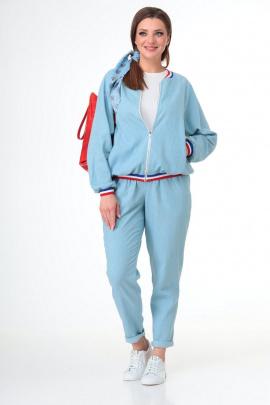 Комплект T&N 7065 бледно-голубой