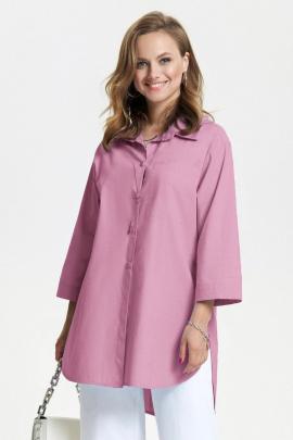 Рубашка TEZA 2639 розовый