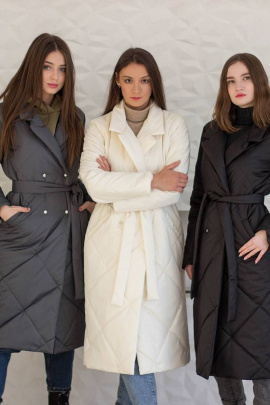 Пальто Sisteroom ПДД-045 молочный