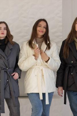 Пальто Sisteroom ПДК-045 молочный