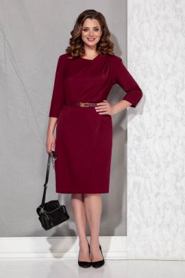 Платье Beautiful&Free 3043 марсала