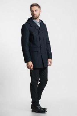Пальто Gotti 048-17у темно-синий