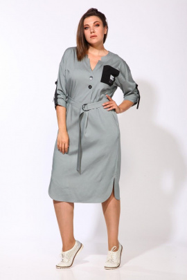 Платье Karina deLux М-9903А зеленый
