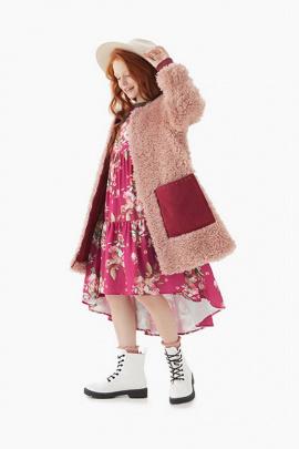 Пальто Bell Bimbo 203037 т.розовый