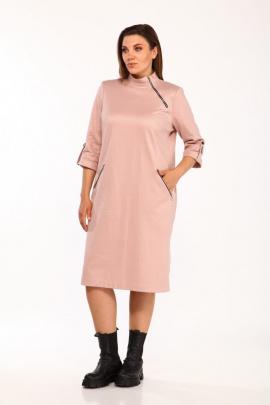 Платье Vilena 663 пудра