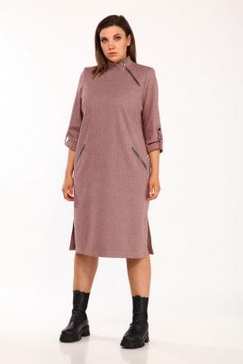 Платье Vilena 663 бордо