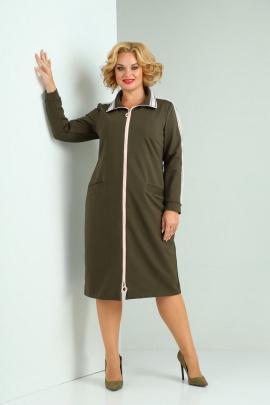 Платье SOVITA M-2122 олива