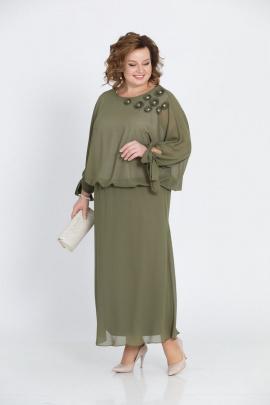 Платье Pretty 814 олива