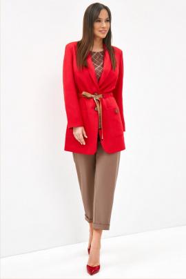 Женский костюм Магия моды 1956 красный+какао