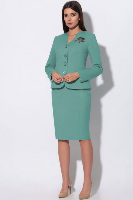 Женский костюм LeNata 23865 ментол