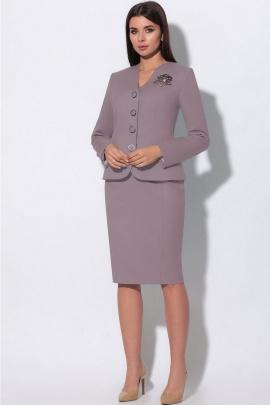 Женский костюм LeNata 23865 лиловый