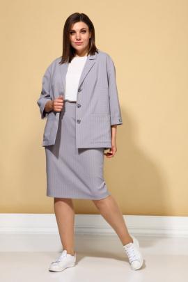 Женский костюм ALEZA 1035 лиловый