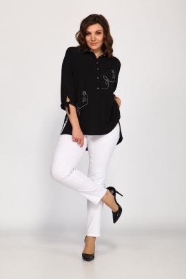 Брюки, Блуза Klever 1514+275 белый+черный