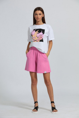 Шорты Kivviwear 4027 розовый