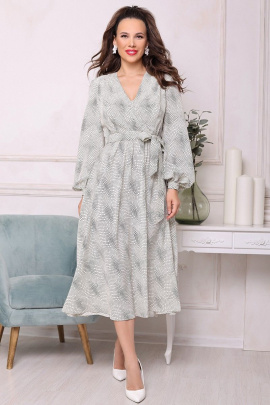 Платье Мода Юрс 2542 черно-белый