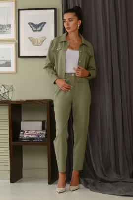 Женский костюм Galean Style 823 хаки