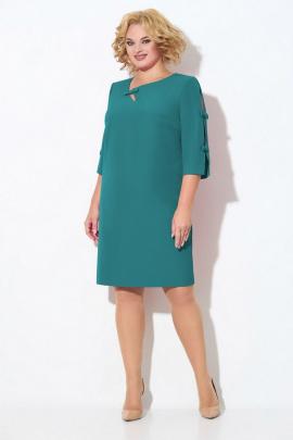 Платье Koketka i K 864-2 зеленый