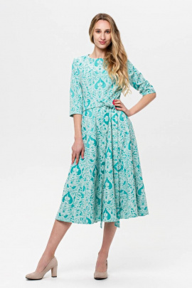 Платье BirizModa 21С0001 бирюзовый