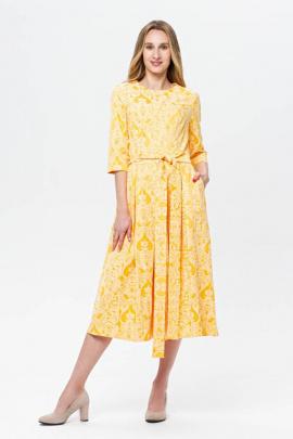 Платье BirizModa 21С0002 желтый