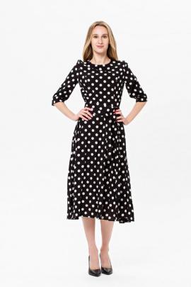 Платье BirizModa 21С0005 черный,белый