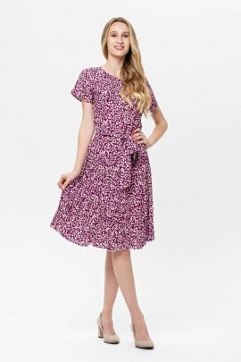 Платье BirizModa 21С0017 фиолетовый